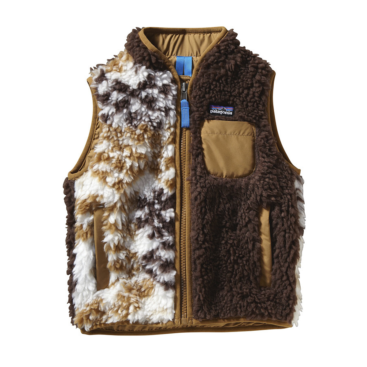 photo: Patagonia Girls' Retro-X Vest fleece vest