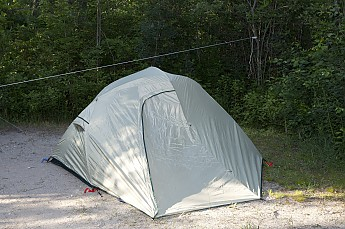 Finally  the rainfly is attached & ALPS Mountaineering Extreme 3 Outfitter Reviews - Trailspace.com
