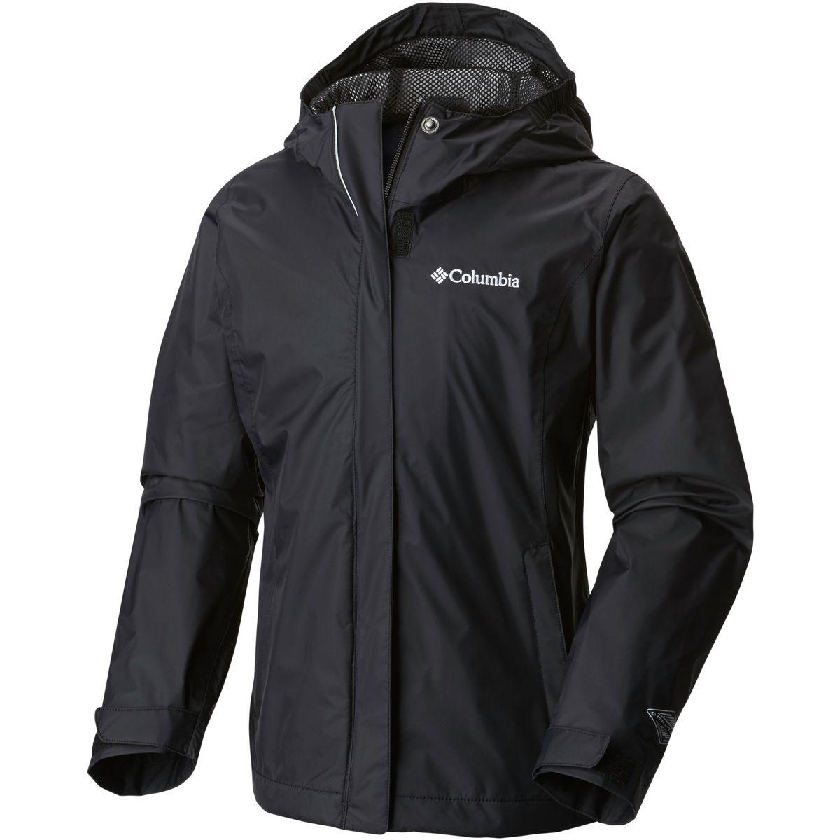 photo: Columbia Girls' Arcadia Rain Jacket waterproof jacket