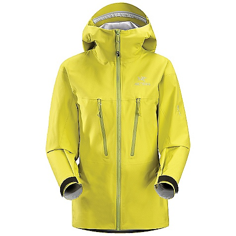 photo: Arc'teryx Women's Alpha LT Jacket waterproof jacket