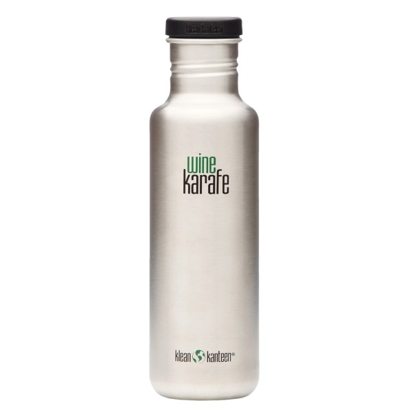 photo: Klean Kanteen 27oz Wine Karafe water bottle