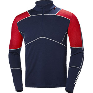 photo: Helly Hansen HH Lifa Merino 1/2 Zip base layer top