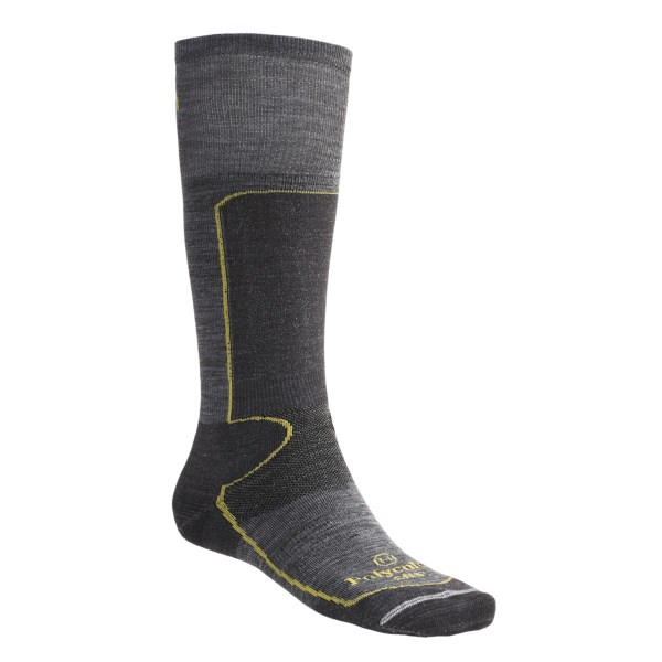 Lorpen Antibacterial Lightweight Ski Socks Over-the-Calf
