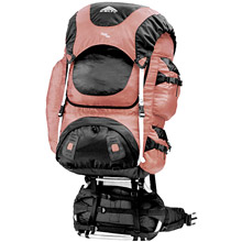 photo: Kelty Tioga 4500 external frame backpack
