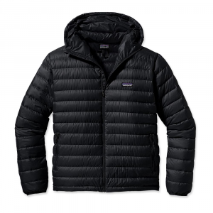 photo: Patagonia Men's Down Sweater Full-Zip Hoody down insulated jacket