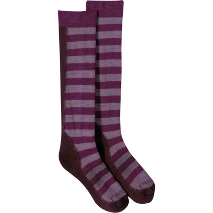 photo: Patagonia Midweight Ski Sock snowsport sock