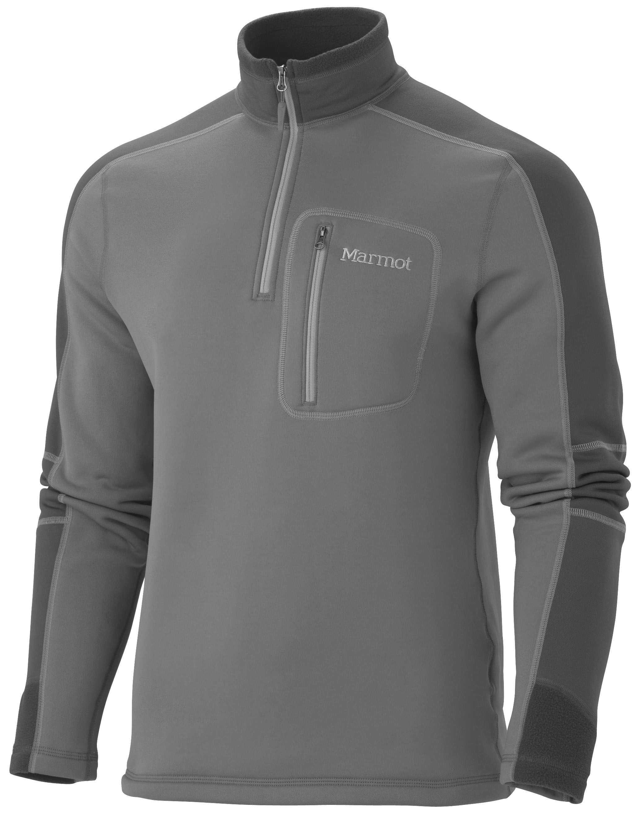 photo: Marmot Men's Power Stretch Half Zip Top fleece top