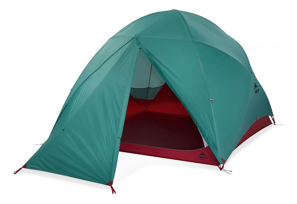 photo: MSR Habitude 6P three-season tent