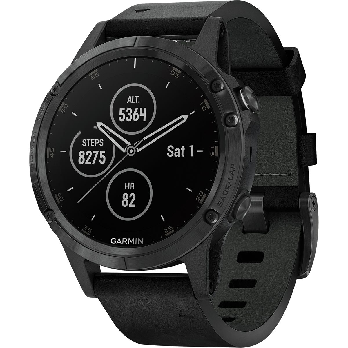 photo: Garmin fenix 5 Plus gps watch