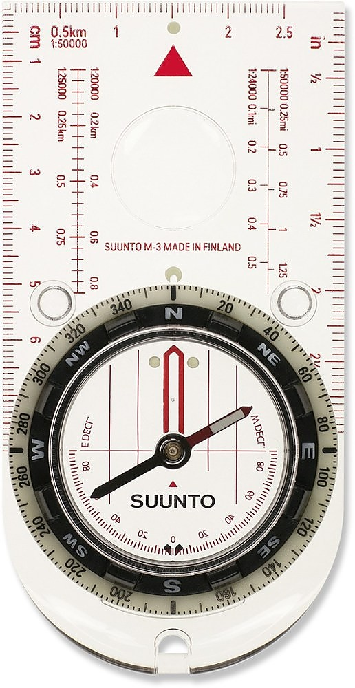 photo: Suunto M-3D Leader Compass handheld compass