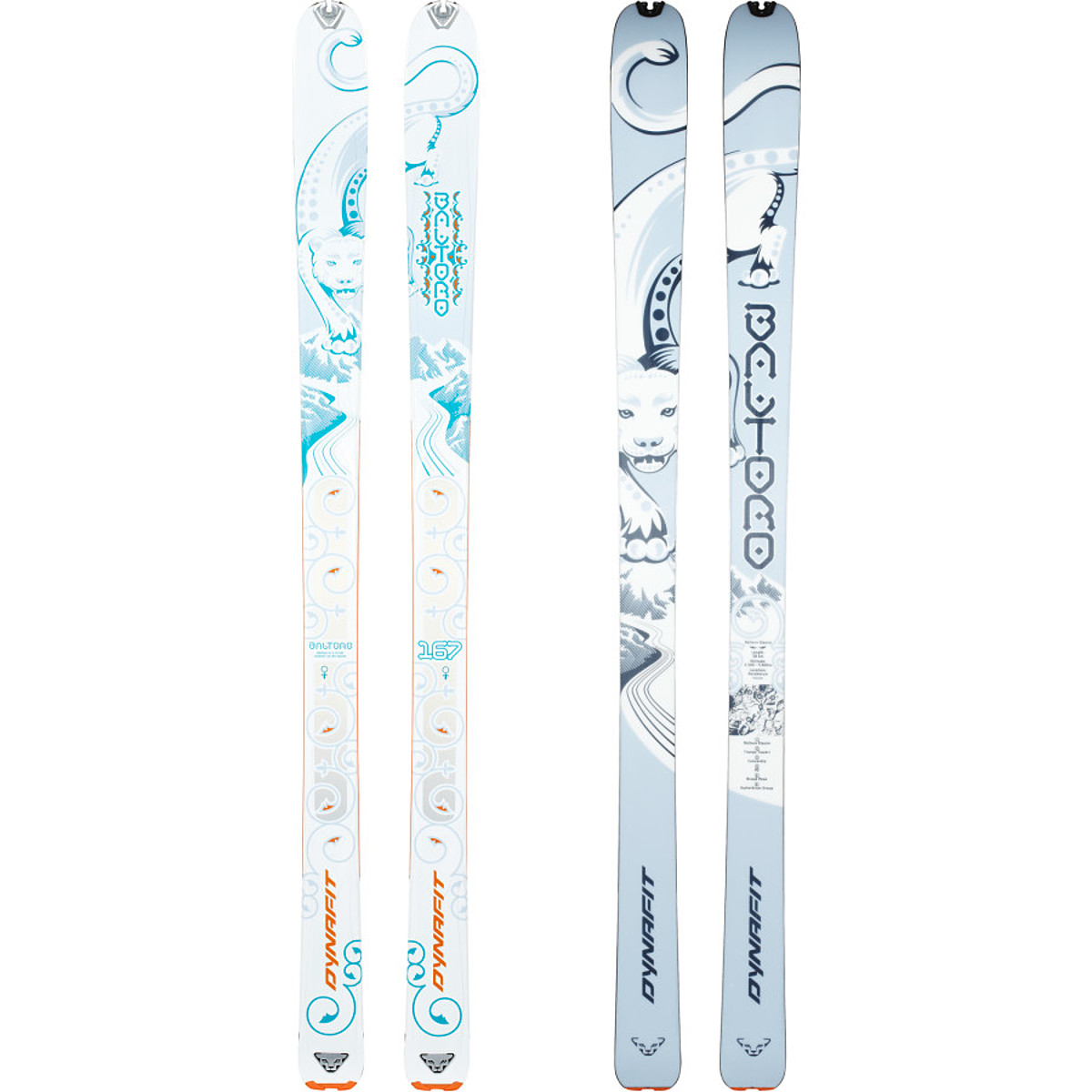 photo: Dynafit Women's Baltoro alpine touring/telemark ski
