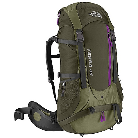 photo: The North Face Women's Terra 45 overnight pack (35-49l)