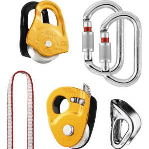 photo: Petzl Crevasse Rescue Kit climbing product