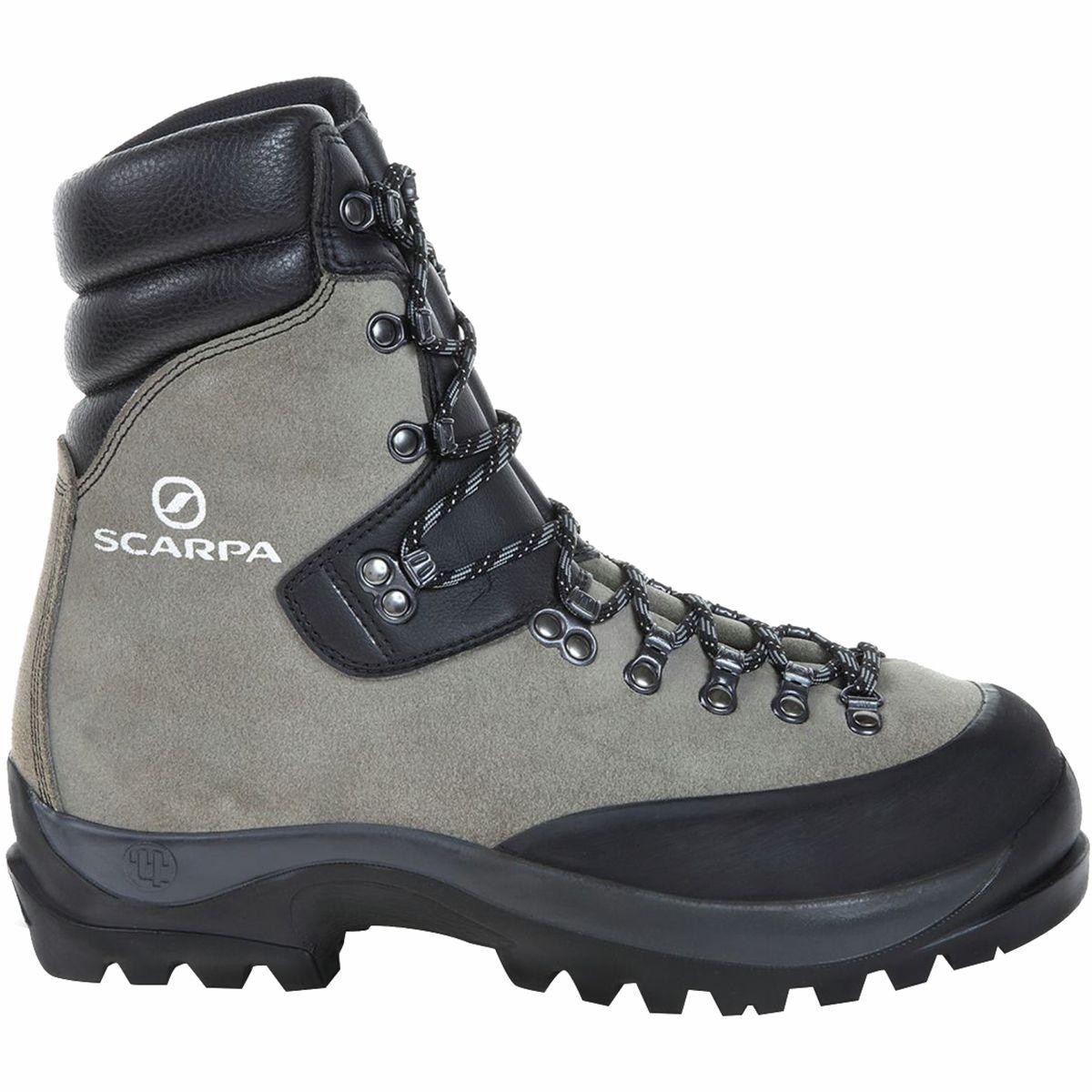 photo: Scarpa Wrangell GTX mountaineering boot