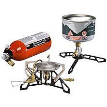 photo: Coleman Fyrestorm Ti Stove liquid fuel stove
