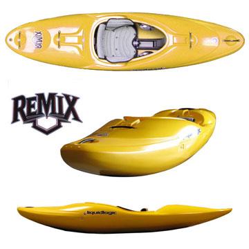 photo: LiquidLogic Remix 59 whitewater kayak