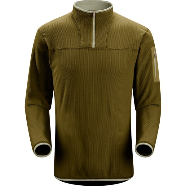 photo: Arc'teryx Caliber Zip Neck fleece top