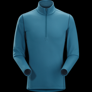 photo: Arc'teryx Men's Phase AR Zip-Neck LS base layer top