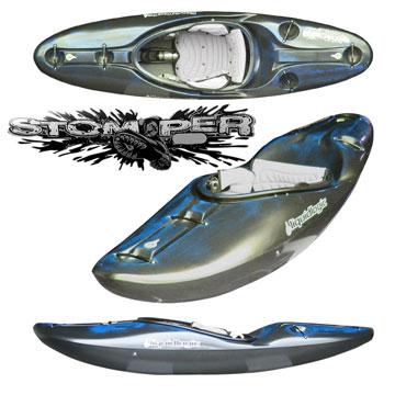 photo: LiquidLogic Stomper whitewater kayak