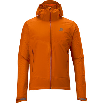 photo: Salomon Tournette Shell Jacket wind shirt