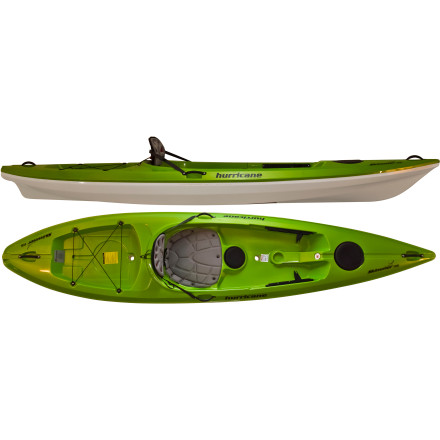 photo: Hurricane Skimmer 116 recreational kayak