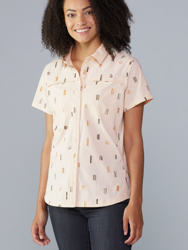 photo: REI Girls' Sahara Shirt hiking shirt