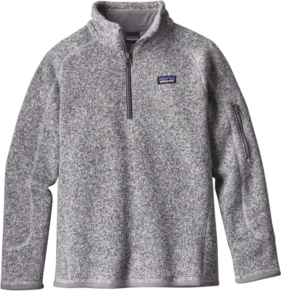 photo: Patagonia Girls' Better Sweater 1/4-Zip fleece top