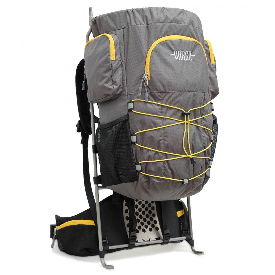 photo: Vargo Ti-Arc Pack external frame backpack