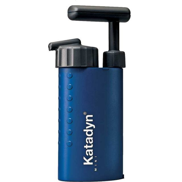 photo: Katadyn Mini pump/gravity water filter