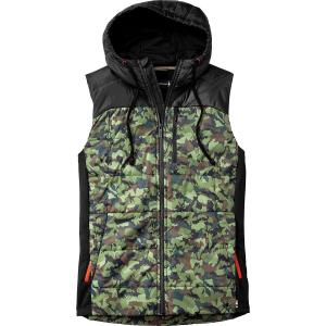 photo: Smartwool Double Propulsion 60 Hooded Vest wool vest