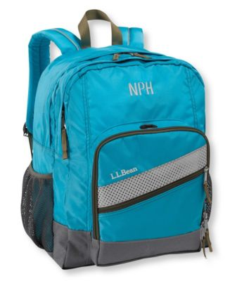 L.L.Bean Deluxe Plus Kids Backpack
