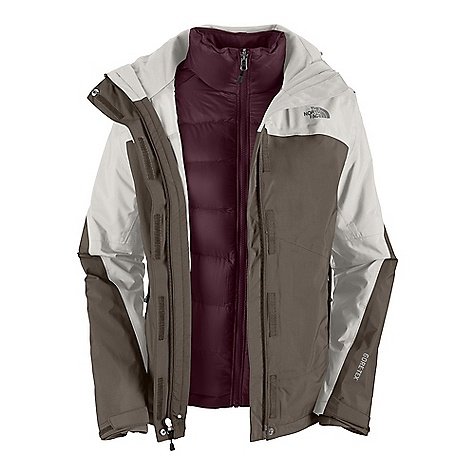 photo: The North Face Women's Mountain Light Triclimate Jacket component (3-in-1) jacket