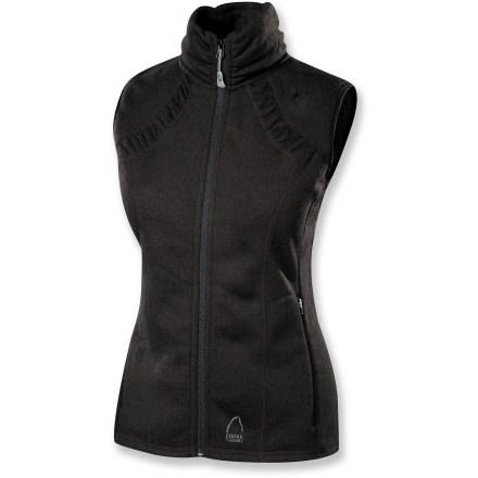 photo: Sierra Designs Baroness Fleece Vest fleece vest
