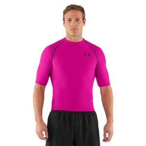 Under Armour HeatGear 1/2 Sleeve Compression T Shirt