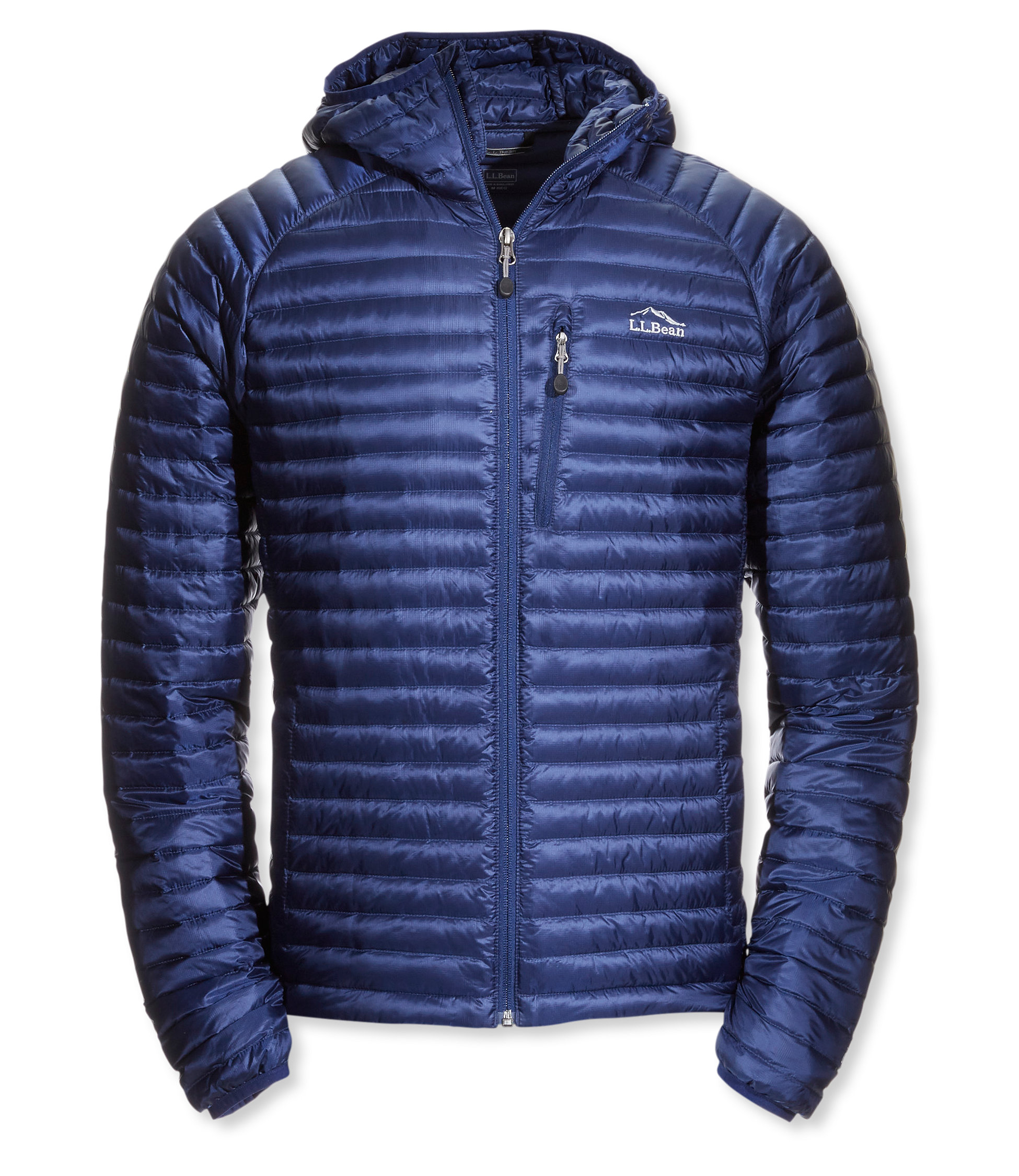 photo: L.L.Bean Ultralight 850 Down Sweater, Hooded down insulated jacket