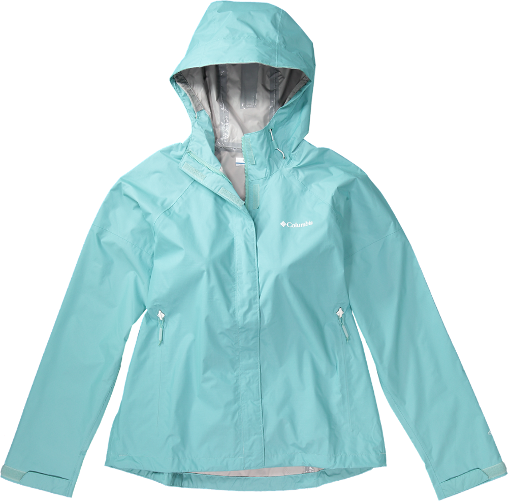 photo: Columbia Women's Sleeker Rain Jacket waterproof jacket