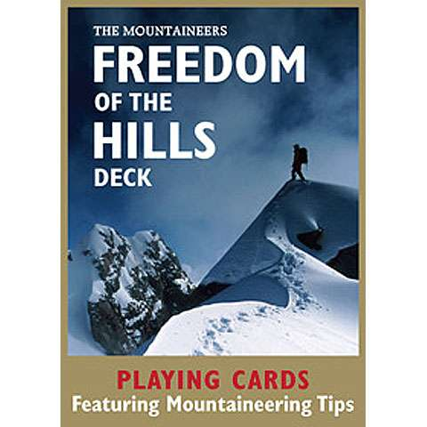 photo: The Mountaineers Books Freedom of the Hills Playing Cards Deck first aid/safety/survival book
