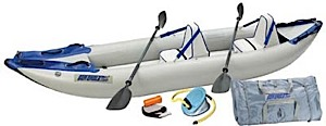 photo: Sea Eagle Explorer 380x Deluxe Package inflatable kayak