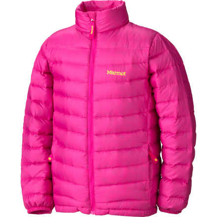 photo: Marmot Girls' Jena Jacket down insulated jacket