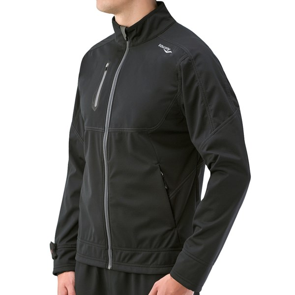 photo: Saucony Vortex Softshell Jacket soft shell jacket
