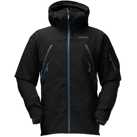 photo: Norrona Narvik Powershield Pro Jacket soft shell jacket