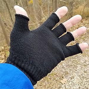 photo: Icebreaker Fingerless Merino Wool Gloves glove liner