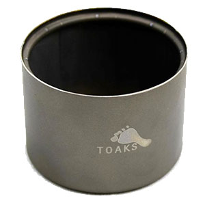 photo of a Toaks stove