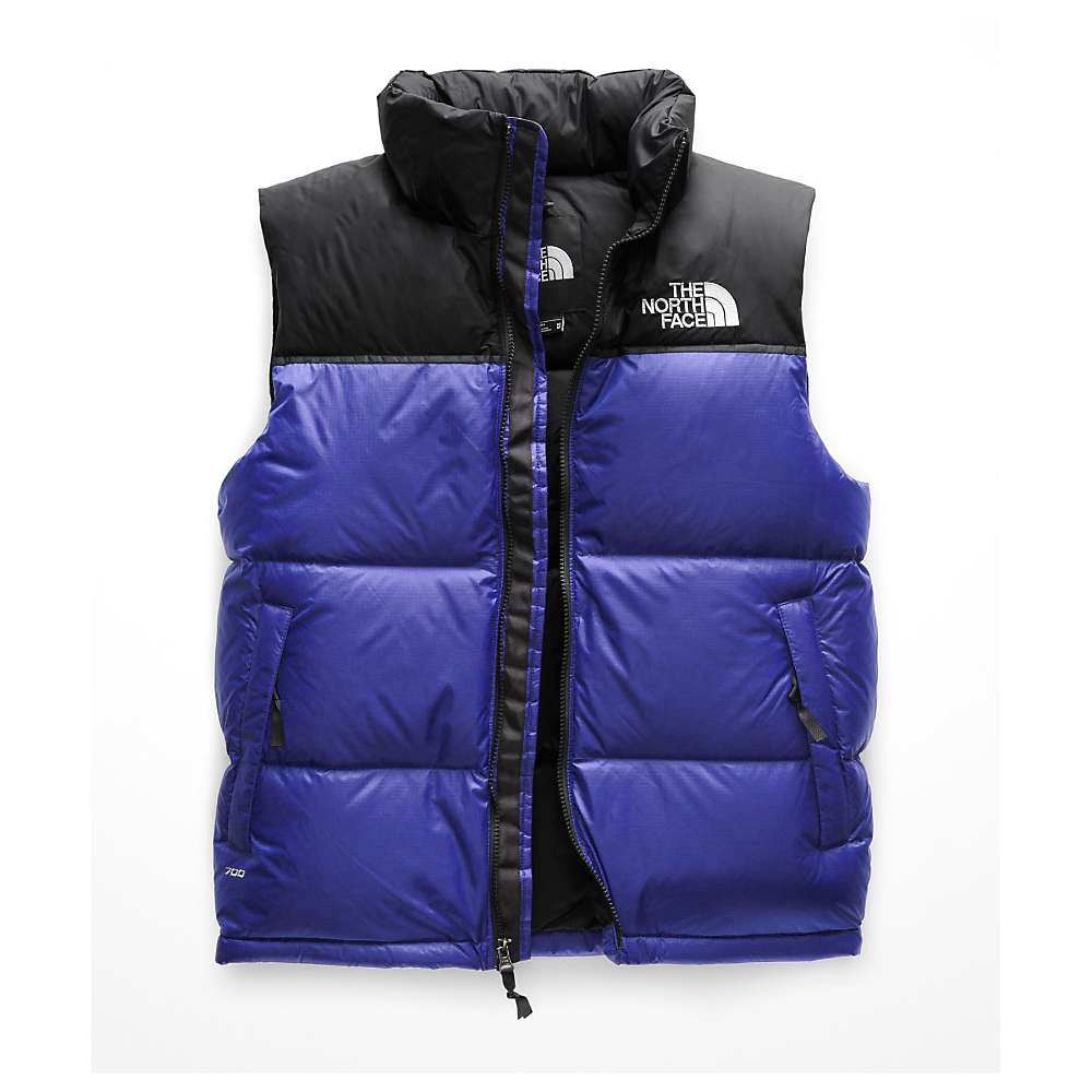 photo: The North Face Men's Nuptse Vest down insulated vest