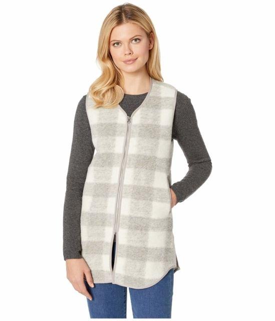photo: Woolrich Chilly Days Long Fleece Vest fleece vest