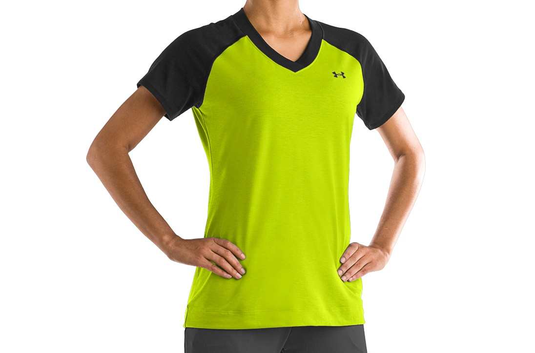 Under Armour Team Girl Ringer T Shirt
