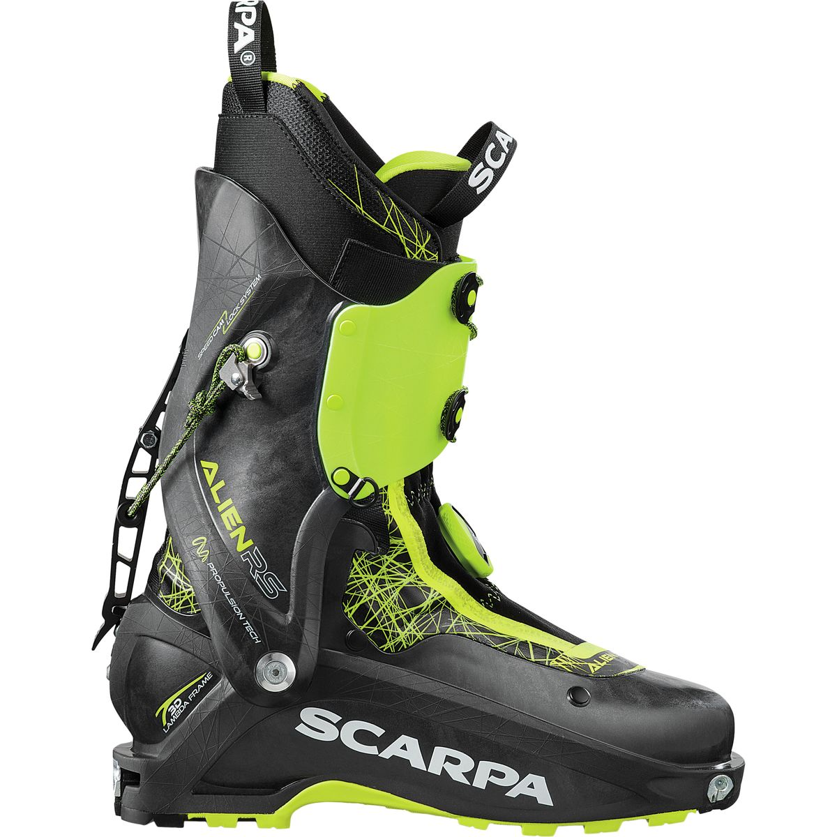 photo: Scarpa Alien RS alpine touring boot