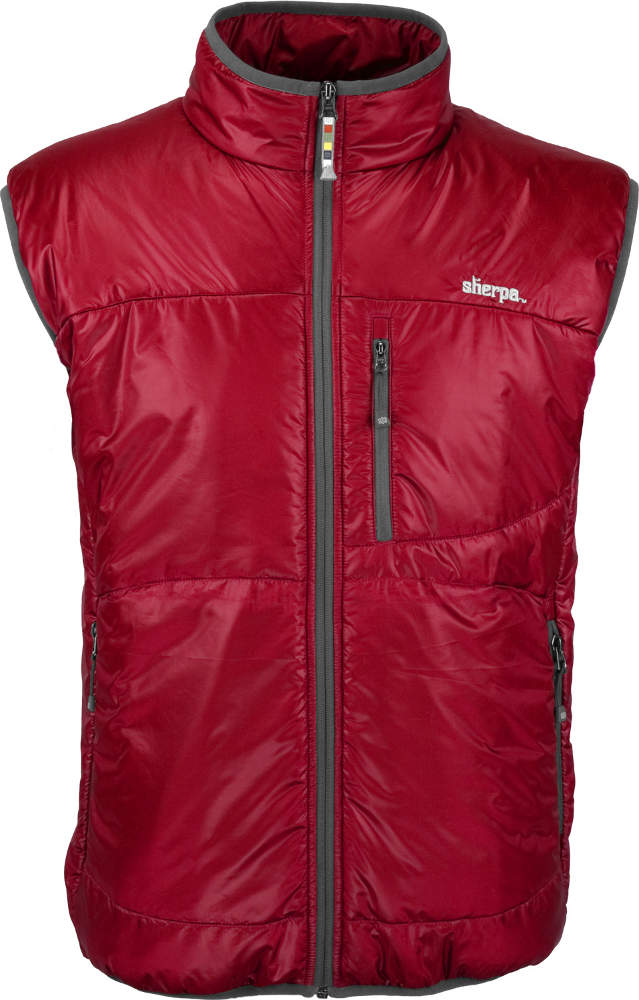photo: Sherpa Adventure Gear Vajra Vest synthetic insulated vest