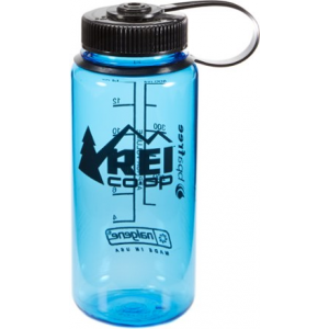 photo: REI Nalgene Logo Wide-Mouth Loop-Top Water Bottle water bottle