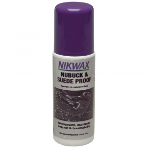 photo: Nikwax Nubuck & Suede Proof footwear cleaner/treatment
